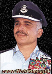 King Hussein I - Born 14 Nov, 1935. Death 7 Feb, 1999. Became king of Jordan in 1953 after his father, Talal, was declared mentally unfit to rule.