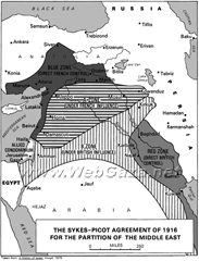 Sykes Picot Agreement 1916 - Letter 1 and 2 From Sir Edward Grey To Paul Cambon May 16 and to Count Benckendorff May 10/23.