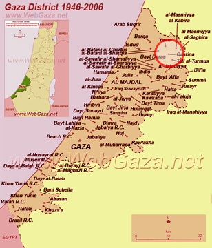 Gaza District 1946-2006