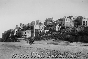 Jaffa - In 1945, Jaffa city covered an area of 9,737 dunums, which didn't include the roads, wadies, and railroads.