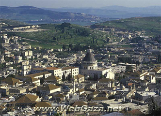 Nazareth (An-Naasira) - Before 1948, Nazareth was an all-Arab town of some 15,000 inhabitants, over 60 percent of whom were Christian and the rest Muslims.