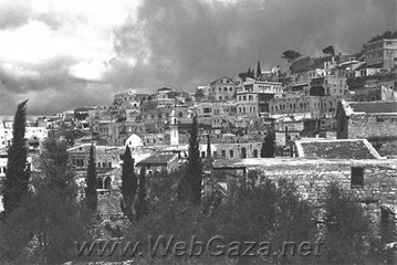 Safad - The city of Safad , the undeclared capital of Galilee, had a population of 9,530 Arabs and 2,400 Jews and a total urban land area of 1,1,429 dunums.