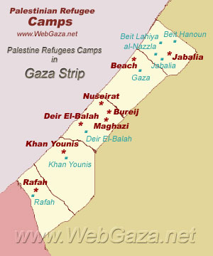Gaza Strip Refugee Camps