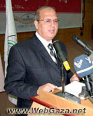 Jamal Khudari - Minister of Telecommunication and IT.
