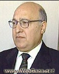 Nabil Shaath - Member of The Palestinian Legislative Council.