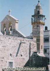 Kateb Al-Welayah Mosque - This mosque is adjacent to the Roman Orthodox church known as (Saint Perforius Church). It was built in 735 Hijra during the Memluke period.