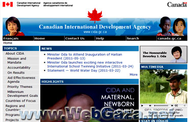 CIDA - The Canadian International Development Agency (CIDA) is Canada's lead agency for development assistance. Want to know more about the structure and scope of CIDA?