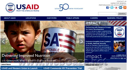 USAID - The United States has a long history of extending a helping hand to those people overseas struggling to make a better life, recover from a disaster or striving to live in a free and democratic country.