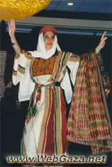 Nablus Dress - A dress from Nablus, District of Nablus.