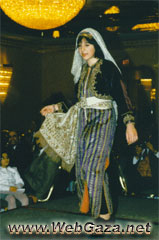 Nazareth Dress - A dress from Nazareth, District of Nazareth (An-Naasira).