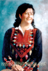 Ghada Abdul Hadi - Founded Hawwa Center for Culture and Arts in Nablus in 1994; member in the Higher National Committee - Nablus District.