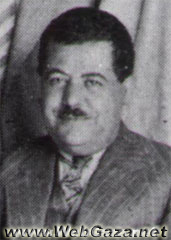 Izzat Darwaza - Born in Nablus 1887; served in the local Ottoman administration as clerk, Telegraphic and Postal Services in Nablus; director of al-Najah School in Nablus.