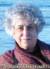 Samia Halabi - Born in Jerusalem 1936; MA in Fine Arts in Painting; taught in American universities for 18 years, has exhibited her work internationally.