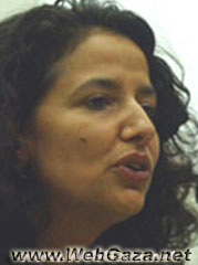 Rema Hammami - PhD in Cultural Anthropology, Temple University 1994; Research Coordinator of the MA Program in Gender, Birzeit University