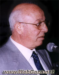 Ahmad Qurei'a (Abu Ala') - Born in Abu Dis, Jerusalem; member of the PLO Central Council; member of the PNC; Minister of Economy in the PA; Secretary General of PECDAR.