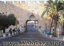 Bab El-Magharbeh (Dung Gate) - Owes its name to the community from the Maghreb, which settled below Al-Haram Al-Sharif at the end of the 12th century.