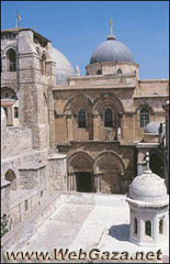The Holy Sepulchre - The most important shrine in the Christian world. It is believed that on its grounds Jesus Christ was crucified, buried and rose from the dead.
